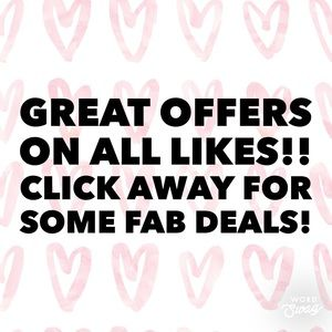 ALL ❤️ RECEIVE AMAZING OFFERS!
